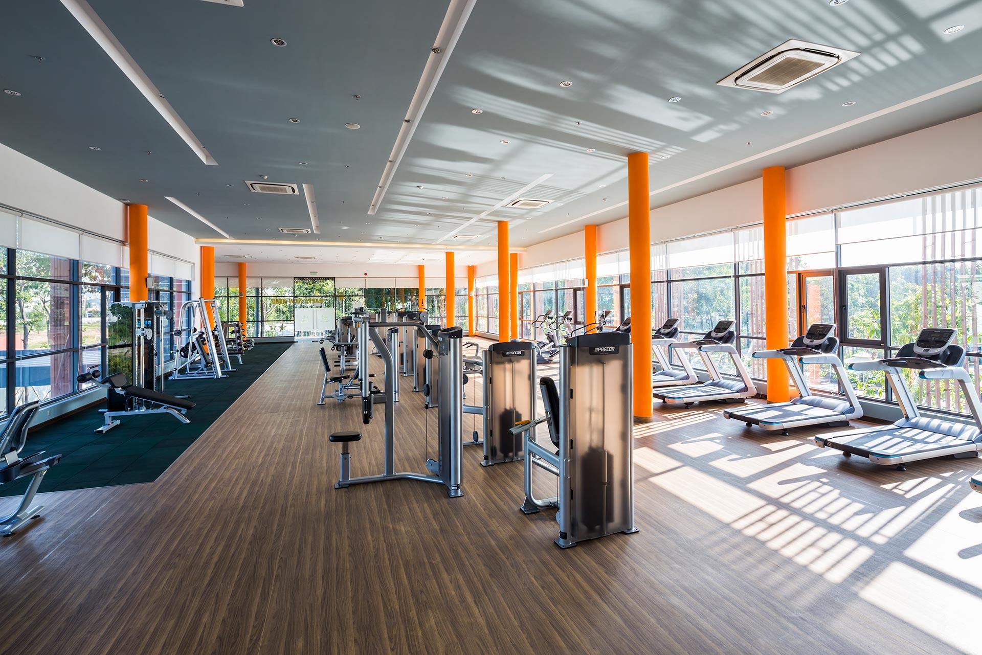 Phòng tập thể hình - Celadon Sports & Resort Club