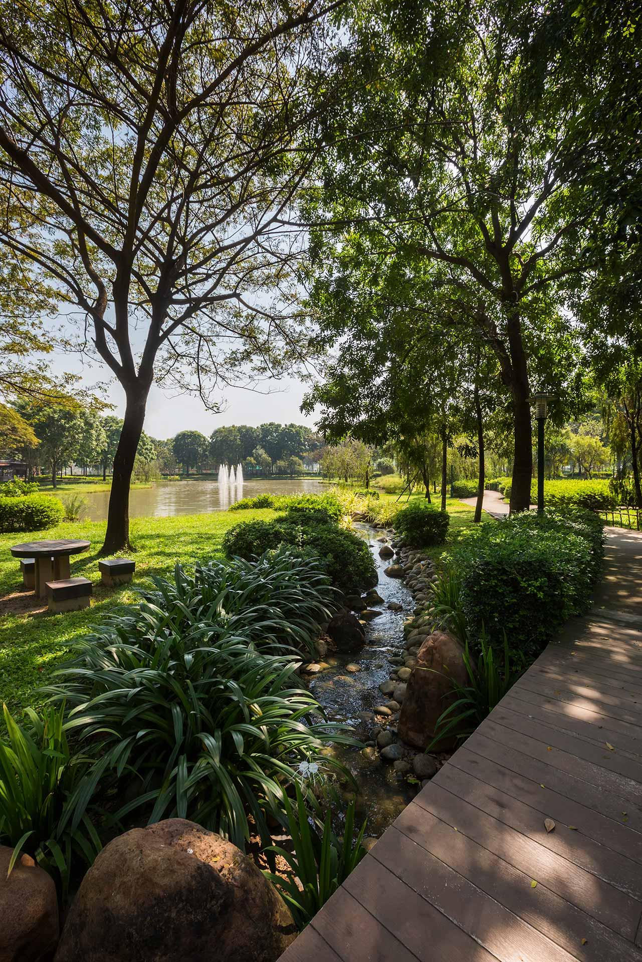 Công viên sinh thái 16,4 ha