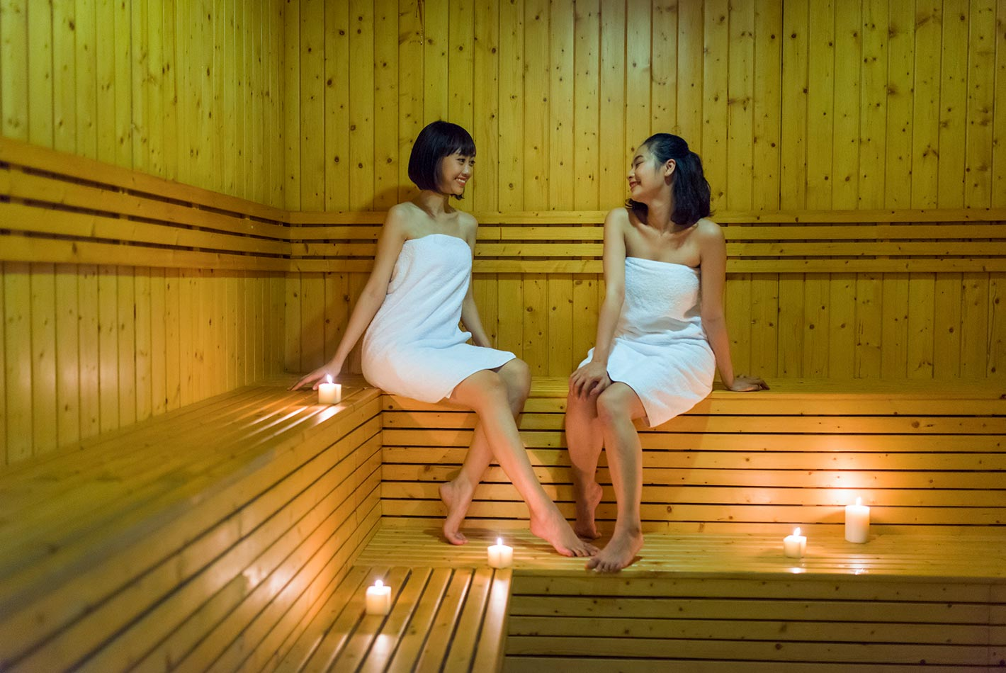 Phòng Tắm hơi & Xông hơi - Celadon Sports & Resort Club