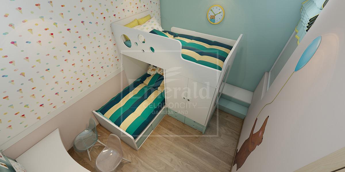 Căn hộ 2 PN - Phòng trẻ em