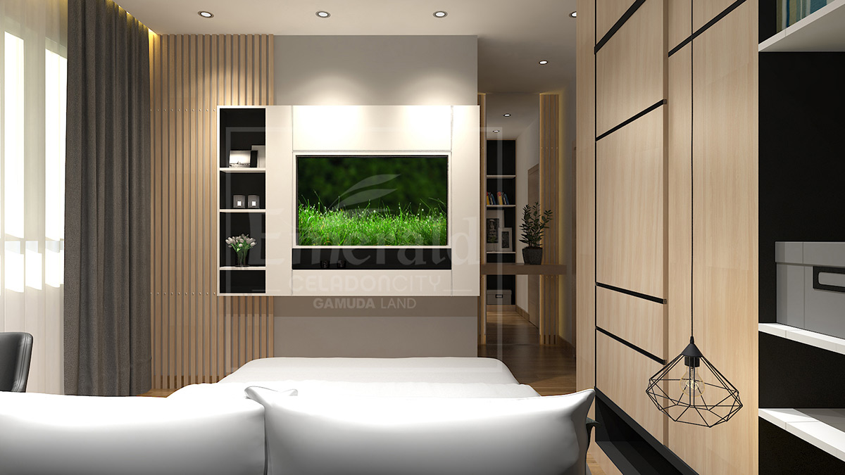 Căn hộ 3 PN - Phòng ngủ master