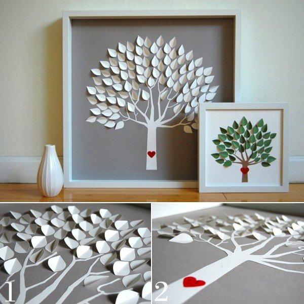 Một số cách làm tranh handmade trang trí phòng cực xinh