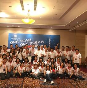 Gamuda Land (HCMC) organizes Team Building to kick off the new year