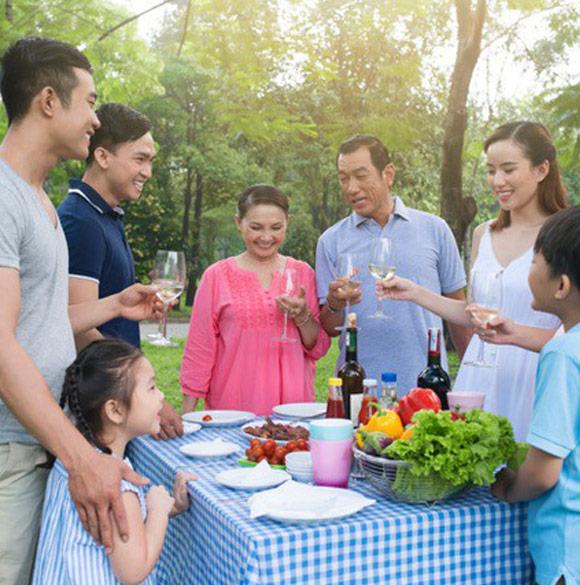 Khu đô thị phức hợp cho gia đình nhiều thế hệ