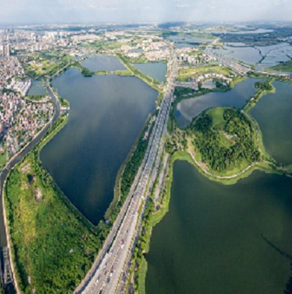 Những lợi thế trong kiến tạo cảnh quan xanh tại phía Nam Hà Nội