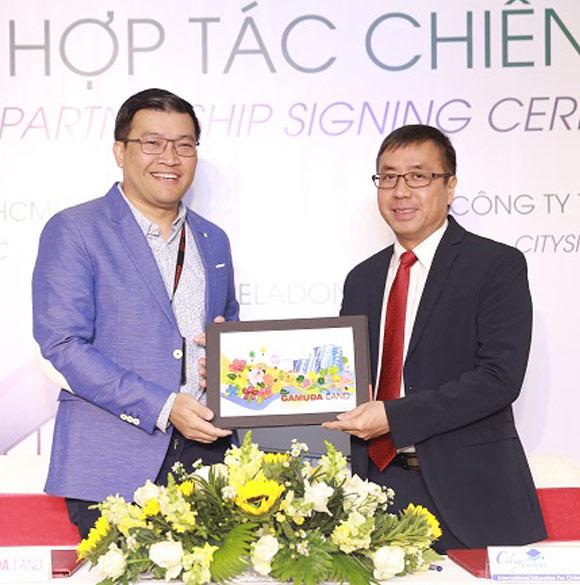 Lễ ký kết hợp tác chiến lược giữa Gamuda Land và CitySmart (Trường mầm non quốc tế Maple Bear)