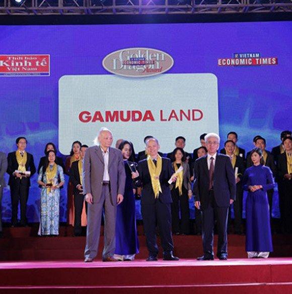 Gamuda Land Việt Nam vinh dự nhận Giải thưởng Rồng Vàng 2017-2018
