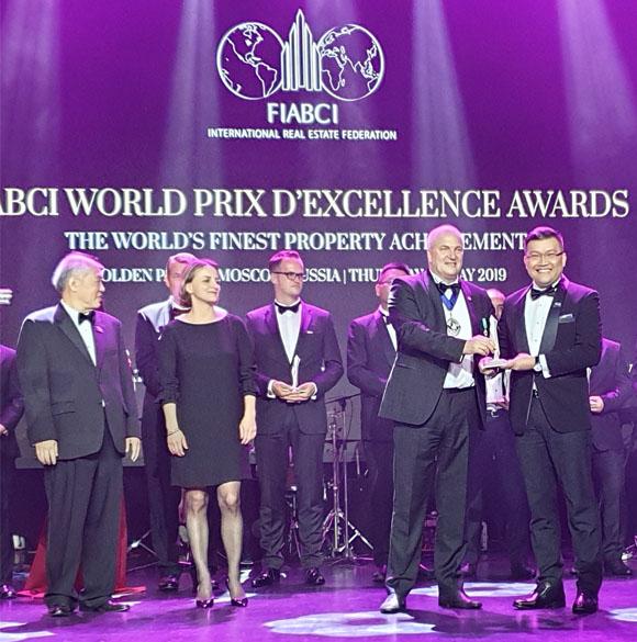 Celadon City là khu đô thị đẳng cấp quốc tế được chứng nhận bởi FIABCI World Prix d'Excellence Awards 2019