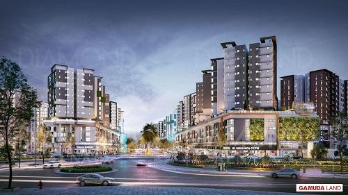 Gamuda Land tiếp tục khẳng định vị thế trong khu vực, tạo nên những không gian sống xanh, tích hợp nhiều tiện ích cả về thể chất và đời sống văn hóa, tinh thần cho cư dân