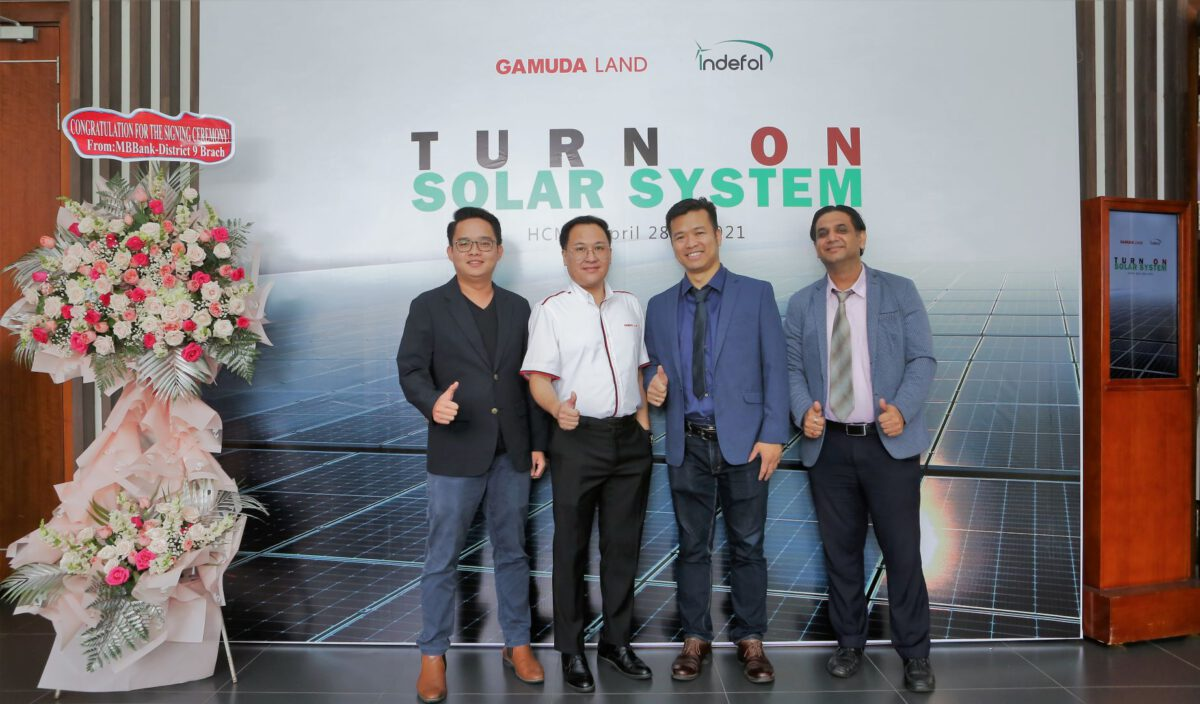 Gamuda Land implemented solar energy for Celadon City