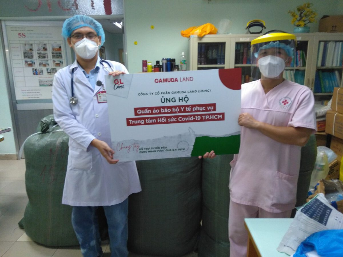 Gamuda Land stands by Ho Chi Minh City to overcome the pandemic